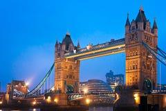 Passerelle de tour, Londres, R-U Photographie stock libre de droits