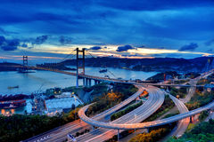 Passerelle de Tsing mA Image libre de droits
