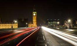 Passerelle de Westminster, Londres, Angleterre Photos libres de droits