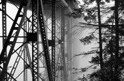 Passerelle de Woodby Image libre de droits