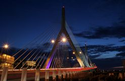 Passerelle de Zakim Photo stock