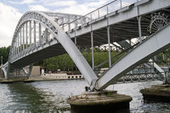 Passerelle Debilly photographie stock libre de droits