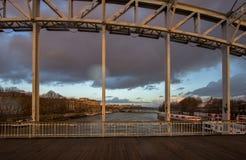 Passerelle Debilly bridge, Paris Royalty Free Stock Photos