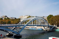 Passerelle Debilly Royalty Free Stock Photo