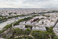 Passerelle Debilly Paris and Seine River Stock Photography
