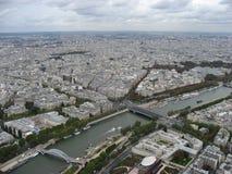 Passerelle Debily Pont de l´Alma Seine River Pari Royalty Free Stock Photos