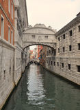 Passerelle des soupirs - Venise Images stock