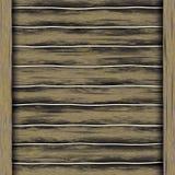 Passerelle en bois illustration stock