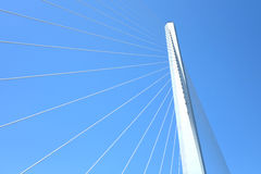Passerelle et ciel Photographie stock libre de droits