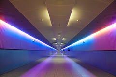 Passerelle et escalier colorés Photo libre de droits