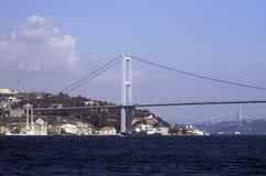 Passerelle et Ortakoy de Bosphorus Image stock