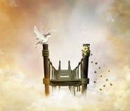 Passerelle fantastique dans le ciel Images stock