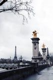 passerelle III Paris d'Alexandre Photographie stock