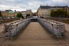 Passerelle leopold-Sedar-Senghor in Parijs, Frankrijk royalty-vrije stock foto