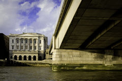 passerelle Londres Photographie stock