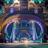 Passerelle Londres Angleterre de tour Photographie stock