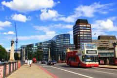 Passerelle Londres de Lambeth Images libres de droits