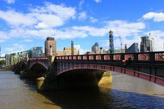 Passerelle Londres de Lambeth Photo libre de droits