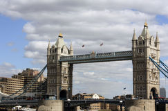 Passerelle Londres de tour Images stock