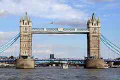 Passerelle Londres de tour Images stock
