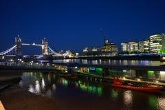 Passerelle Londres de tour Photographie stock