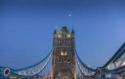 Passerelle Londres de tour Photos stock