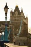 Passerelle Londres de tour Image libre de droits