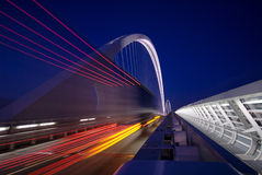 Passerelle moderne Images stock