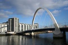 Passerelle neuve Glasgow Photos stock