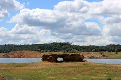 Passerelle normale de roche Photo libre de droits