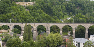 Passerelle Old Bridge, Luxembourg City Royalty Free Stock Photos