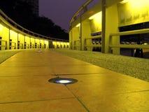 Passerelle par Night Photographie stock libre de droits