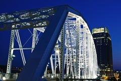 Passerelle piétonnière à Nashville Photographie stock libre de droits