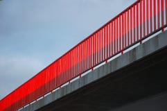 Passerelle rouge photo stock