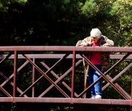 Passerelle rouillée Photographie stock libre de droits