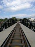 Passerelle sur le fleuve Kwai Photo stock