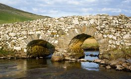 Passerelle tranquille d'homme, Irlande Photo stock