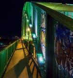 Passerelle urbaine Photo libre de droits