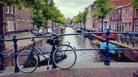 Passerelles d'Amsterdam Photo stock