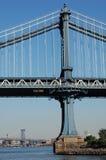 Passerelles de Manhattan et de Williamsburg, New York City Photo libre de droits