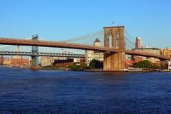 Passerelles de New York Photographie stock