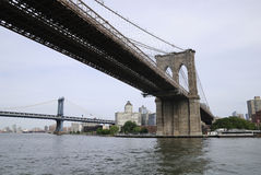 Passerelles de New York Images stock