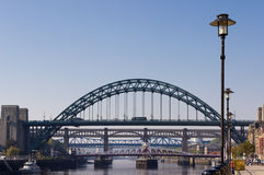 Passerelles de Tyne images stock