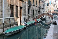 Passerelles de Venise images stock
