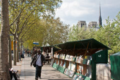 Book Stalls in Paris Royalty Free Stock Image