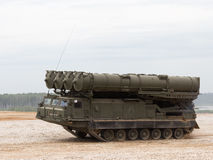 Passes anti-aircraft missile system S-300 Favorit, Russia stock images