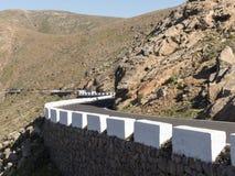 Passez les Îles Canaries de route Photographie stock libre de droits