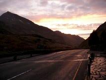 Passez sous le snowdon, snowdonia, Pays de Galles, R-U Photographie stock libre de droits