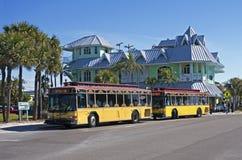 Passez un chariot à la Floride de gril Photos stock
