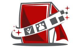 Passfotoautomat-Logo Lizenzfreie Stockfotografie